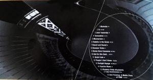 Round and Round Album Liner Song List