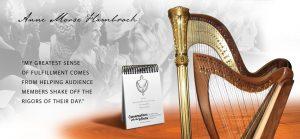 Anne Morse-Hambrock Concerts Harp + Humor