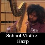 Anne Morse-Hambrock School Visits Harp