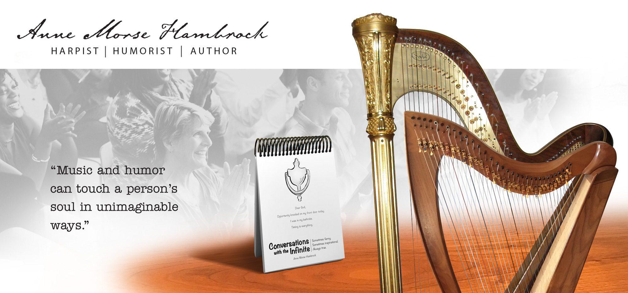 Anne Morse-Hambrock Harp Humor Author