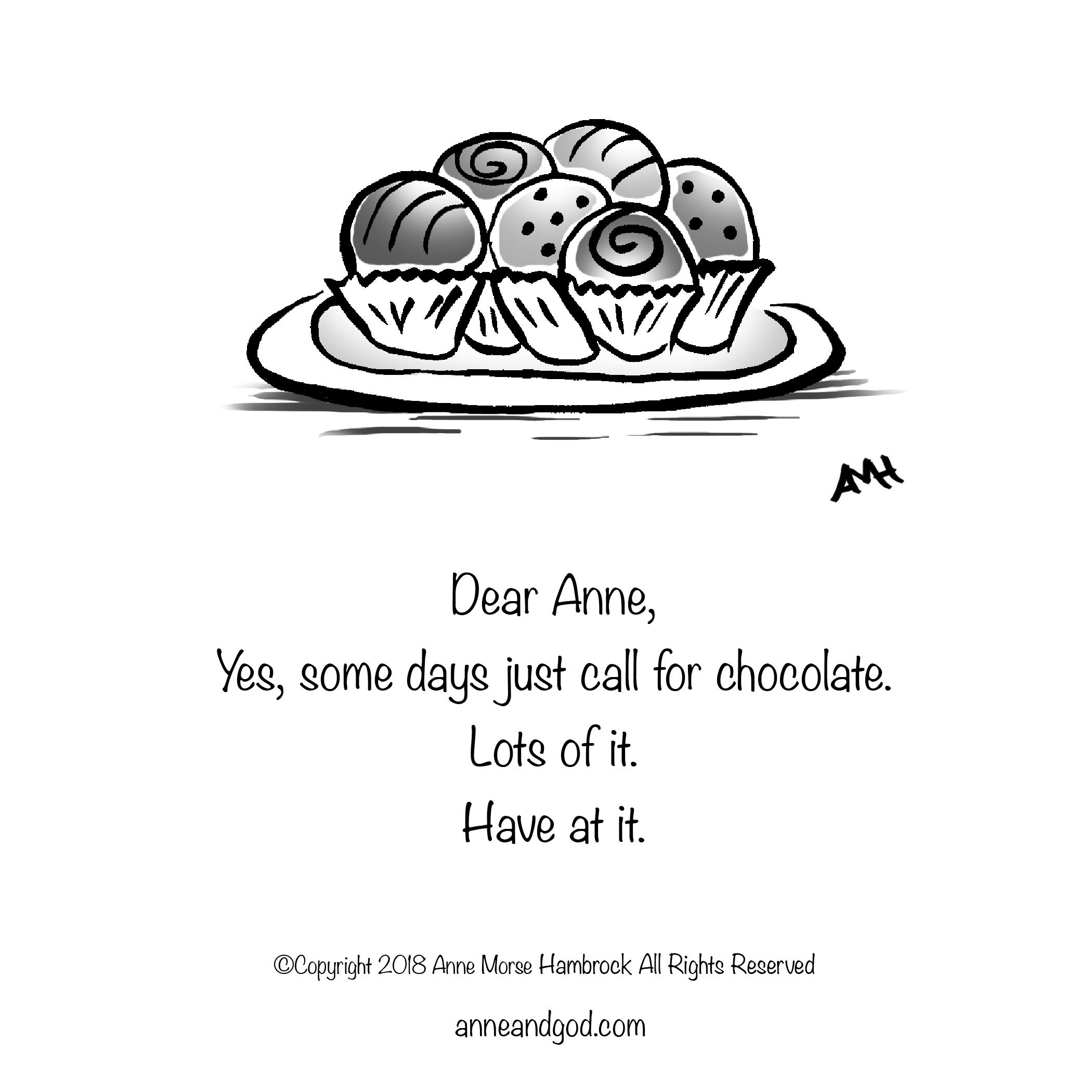 Chocolate Truffles Anne & God