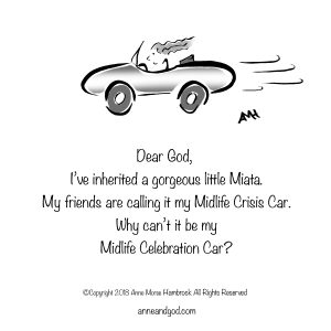 Sporty Little Miata Anne and God