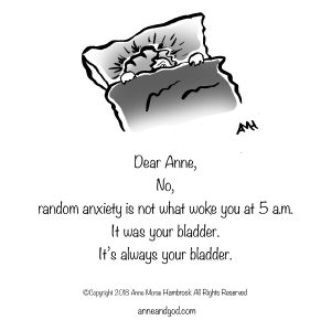 The Wake Up Call Anne and God